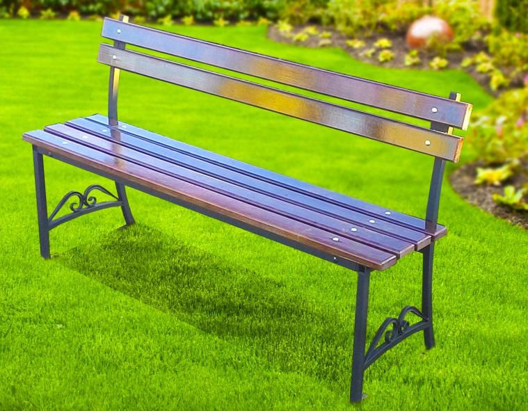железные скамейки фото быстро